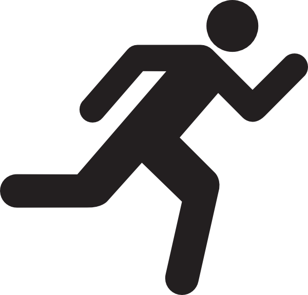 Running Icon On Transparent Background clip artRunning Clipart