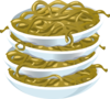 Fried Noodles Clip Art