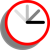 Ticking Clock Frame 1 Clip Art