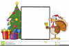 Christmas Turkey Free Clipart Image