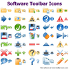 Software Toolbar Icons Image