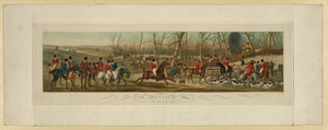 Fox Hunting, Plate 1--. The Meet At Cover  / Drawn By Henry Alken ; Engraved By Eugene Tily. Image