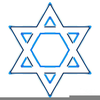 Jewish Star Of David Clipart Image