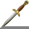 Bloody Sword Clipart Image