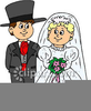 Wedding Clipart Bride And Groom Image