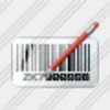 Icon Bar Code Edit Image