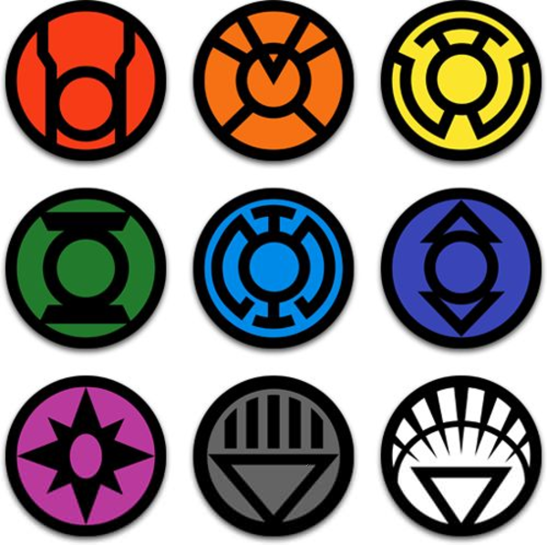 Lantern Corps Symbols Free Images At Clker Vector Clip Art
