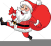 Free Animated Santa Claus Clipart Image