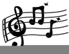 Animated Clipart Musical Notes Image