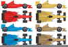 Free Race Cars Clipart Image