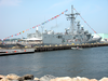 The Guided Missile Frigate Uss Stephen W. Groves (ffg 29) Makes A Port Call To New London Over The July 4th Weekend Image