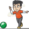 Bowler Clipart Image