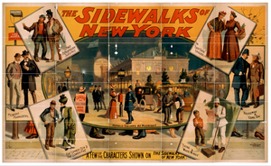 The Sidewalks Of New York Image