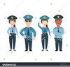 Policeman Cartoon Clipart Image