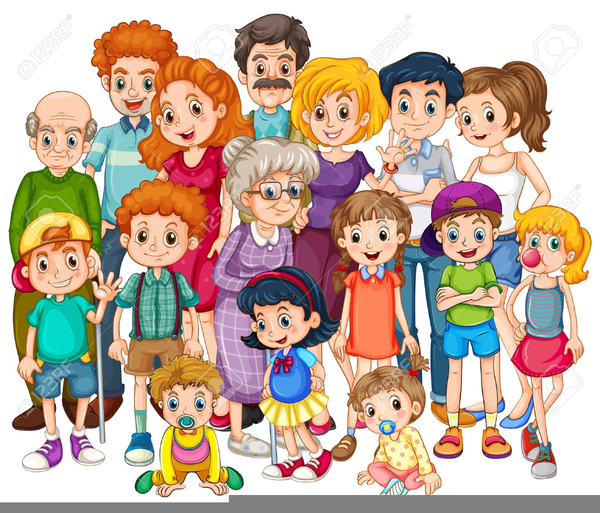Free Cliparts Family Members Free Images At Clker Com Vector