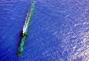 Ssn 721 At Sea Image