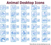 Animal Desktop Icons Image