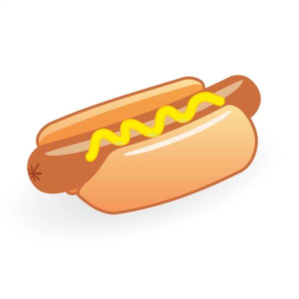Hot Dog Vector X | Free Images at Clker.com - vector clip art online ...