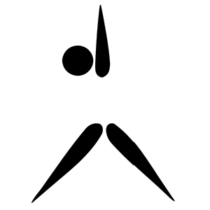 Gymnastics Aerobic Pictogram Exercise Image