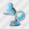 Icon Desk Lamp Search Image