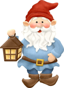 Garden Gnome Clipart Free | Free Images at Clker.com - vector clip art  online, royalty free & public domain