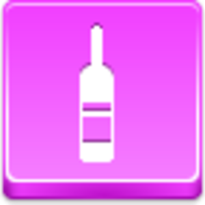 Free Pink Button Wine Bottle Image