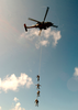 Hs-4 Practices Spie Rigging Aboard Uss Abraham Lincoln. Image
