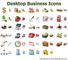 Desktop Business Icons Image