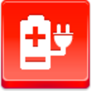 Free Red Button Icons Electric Power Image