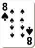 Eight Of Spades Clip Art