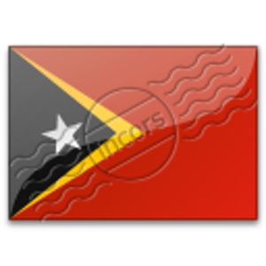 Flag East Timor 6 Image