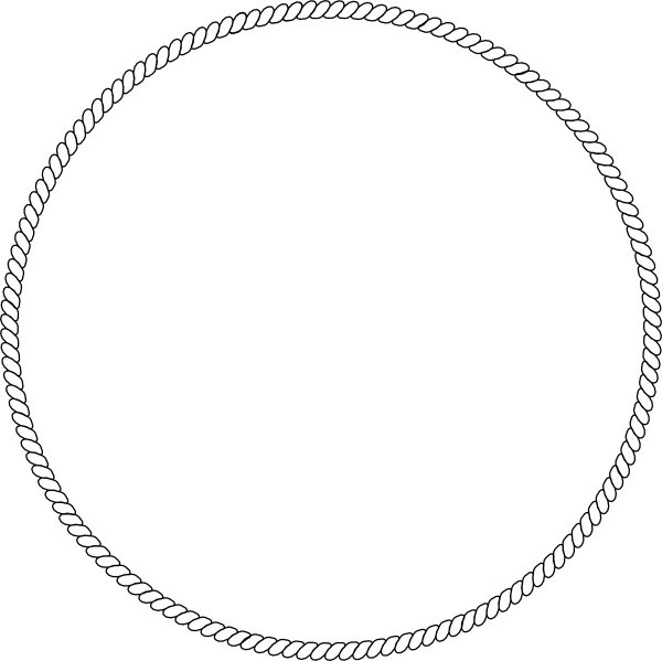 clipart rope border circle - photo #24
