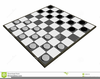Checkers Game Clipart Image