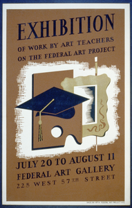 Exhibition Of Work By Art Teachers On The Federal Art Project Image