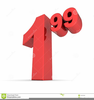Numeral Clipart Image