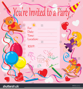 Birthday invitation card clipart free images at clker vector birthday invitation card clipart image filmwisefo