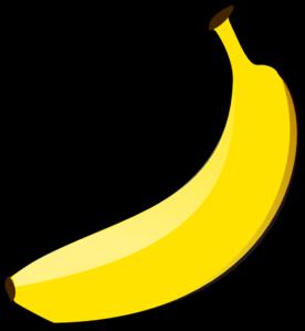 banana clip art at clker com vector clip art online royalty free rh clker com Banana Clip Art Black and White Funny Banana Clip Art