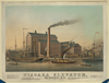 Niagara Elevator, Buffalo, N.y.  / Sage, Sons & Co. Lith. Print G And Man Fg Co., Buffalo, N.y. Image