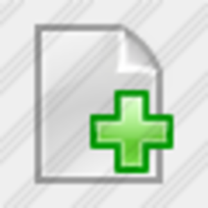Icon Doc Add 14 Image