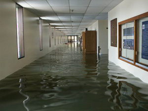 Flood Damage To U.s. Naval Academy. Image