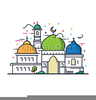 Free Clipart Mosque Image