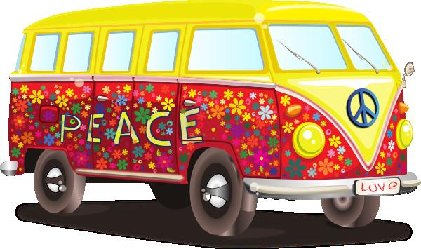 Hippy Vw Bus Clip Art at Clkercom  vector clip art online