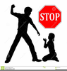 Stop Domestic Violence Clipart Image