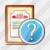 Icon Sertificate Question Image