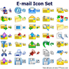 E-mail Icon Set Image
