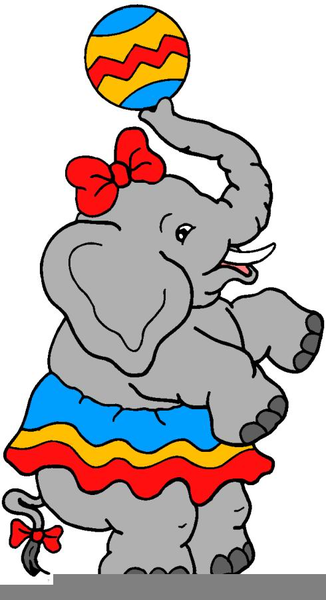 free circus elephant clipart free images at clker com vector rh clker com circus elephant clipart Big Top Circus Clip Art