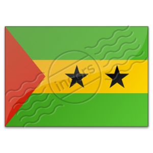 Flag Sao Tome And Principe 3 Image