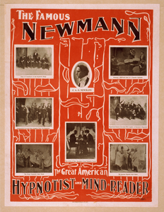 The Famous Newmann The Great American Hypnotist And Mind-reader. Image