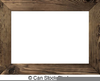 Free Wood Frame Clipart Image