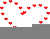 Big Red Hearts Clipart Image